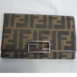 Authentic Preowned Fendi Trifold Wallet